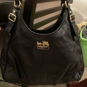 Coach 3 section shoulder bag